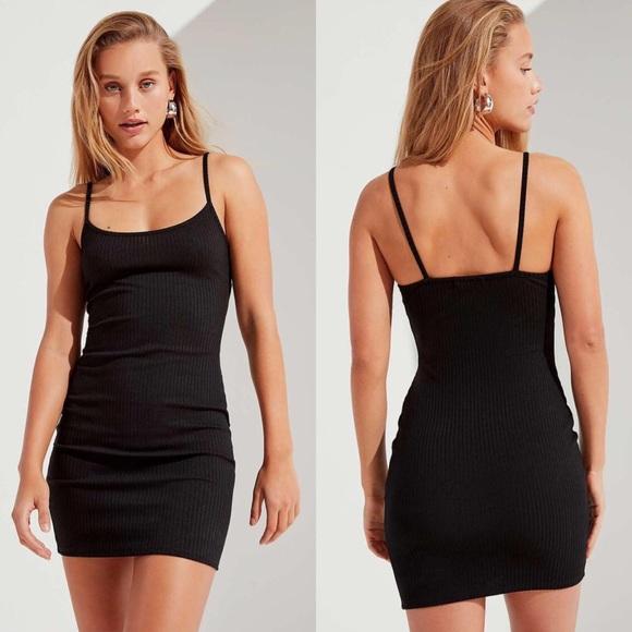 c40d550e79e Urban Outfitters Dresses   Uo Mia Ribbed Knit Bodycon Mini Dress ...